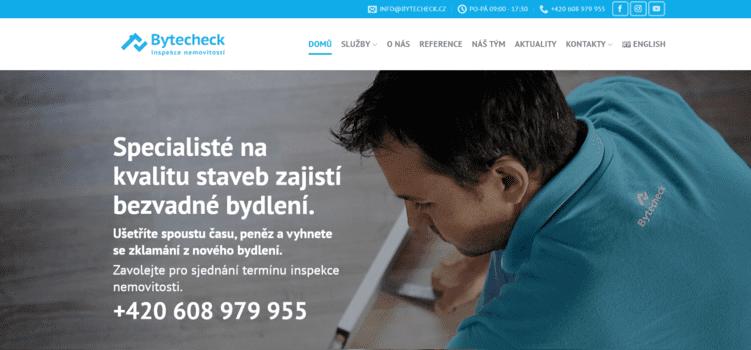 Bytecheck | eSoul tvoří a optimalizuje webové stránky