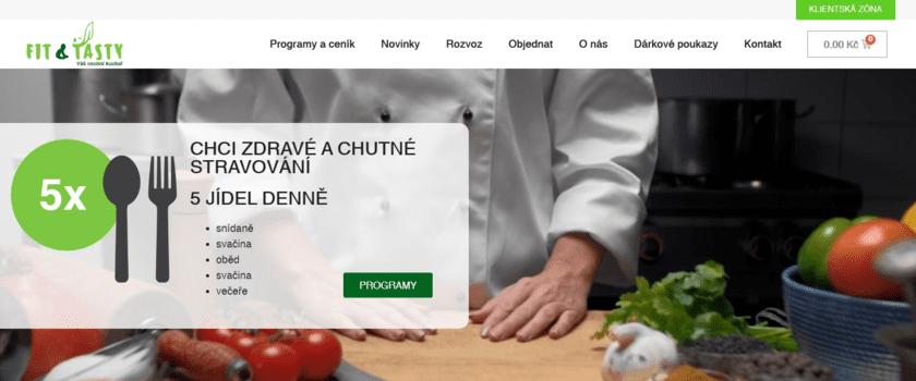Fit and Tasty | eSoul tvoří a optimalizuje webové stránky
