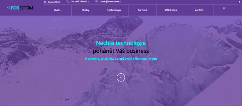 Forecom | eSoul tvoří a optimalizuje webové stránky