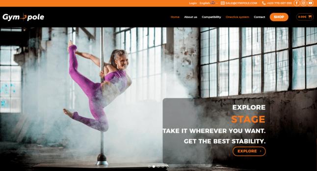 Gympole | eSoul tvoří a optimalizuje webové stránky
