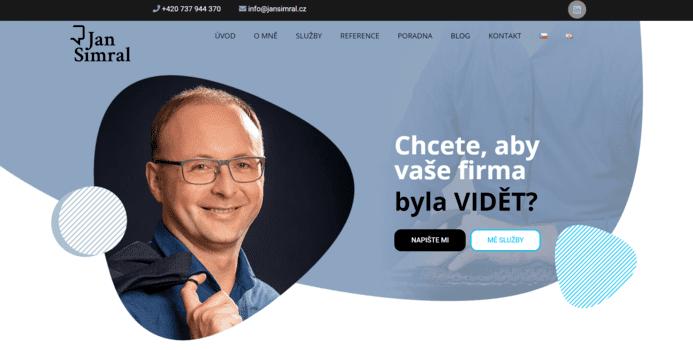 Jan Šimral | eSoul tvoří a optimalizuje webové stránky