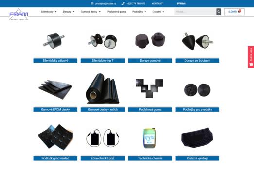 Rubber.cz | eSoul tvoří a optimalizuje webové stránky