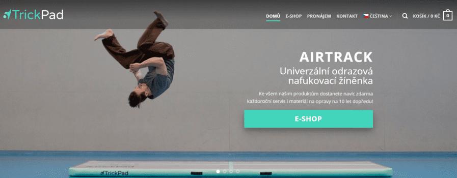TrickPad | eSoul tvoří a optimalizuje webové stránky